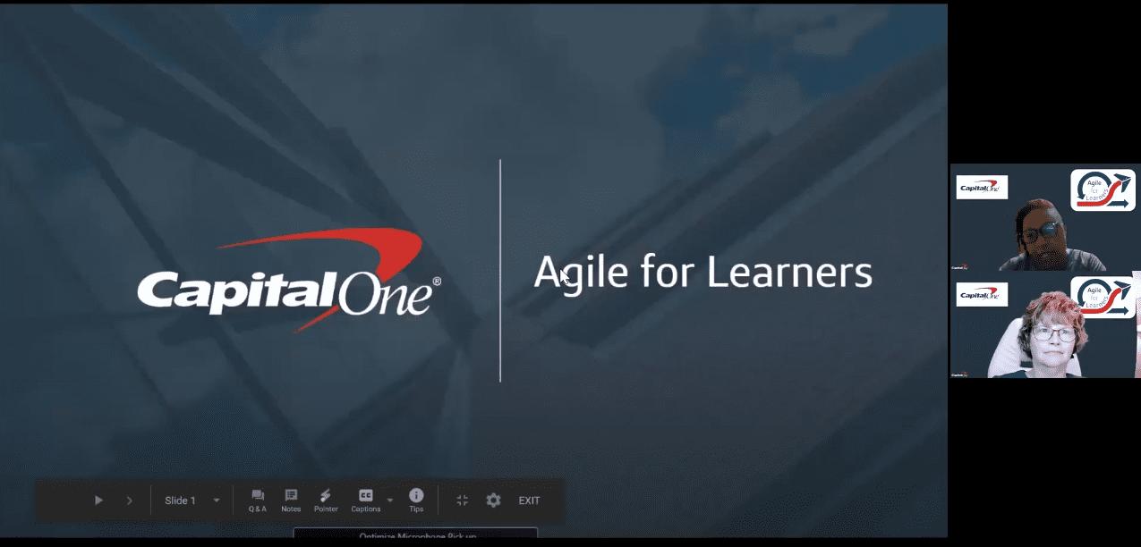 DC LEAN+Agile Meetup: Capital One's Agile for Learners