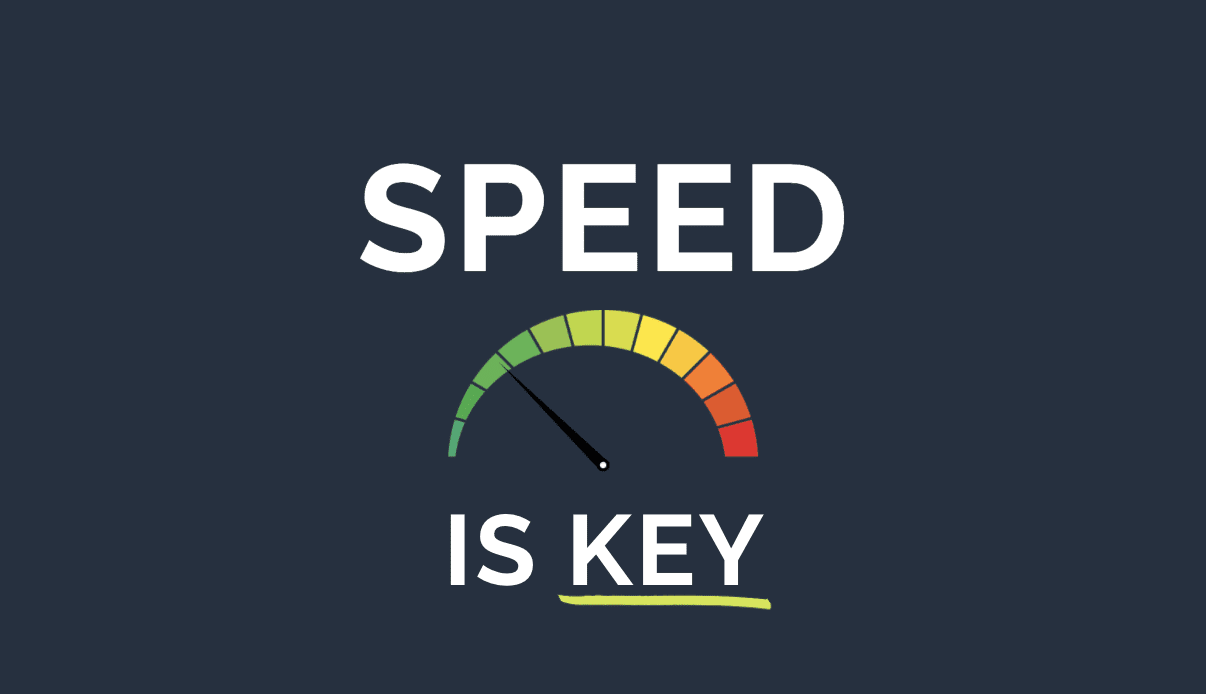 Speed is Key to Business Agility