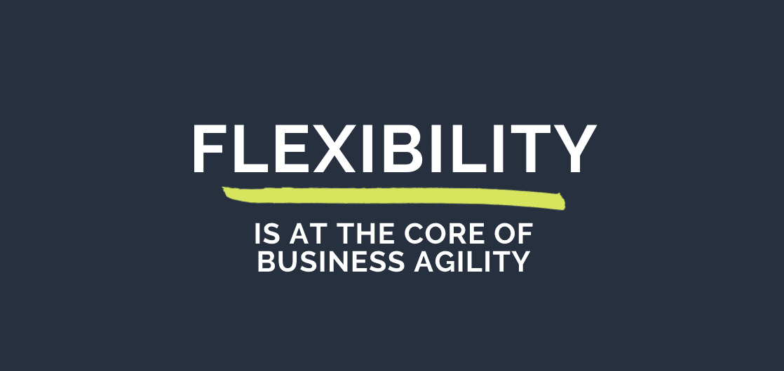 Flexibility is at the Core of Business Agility