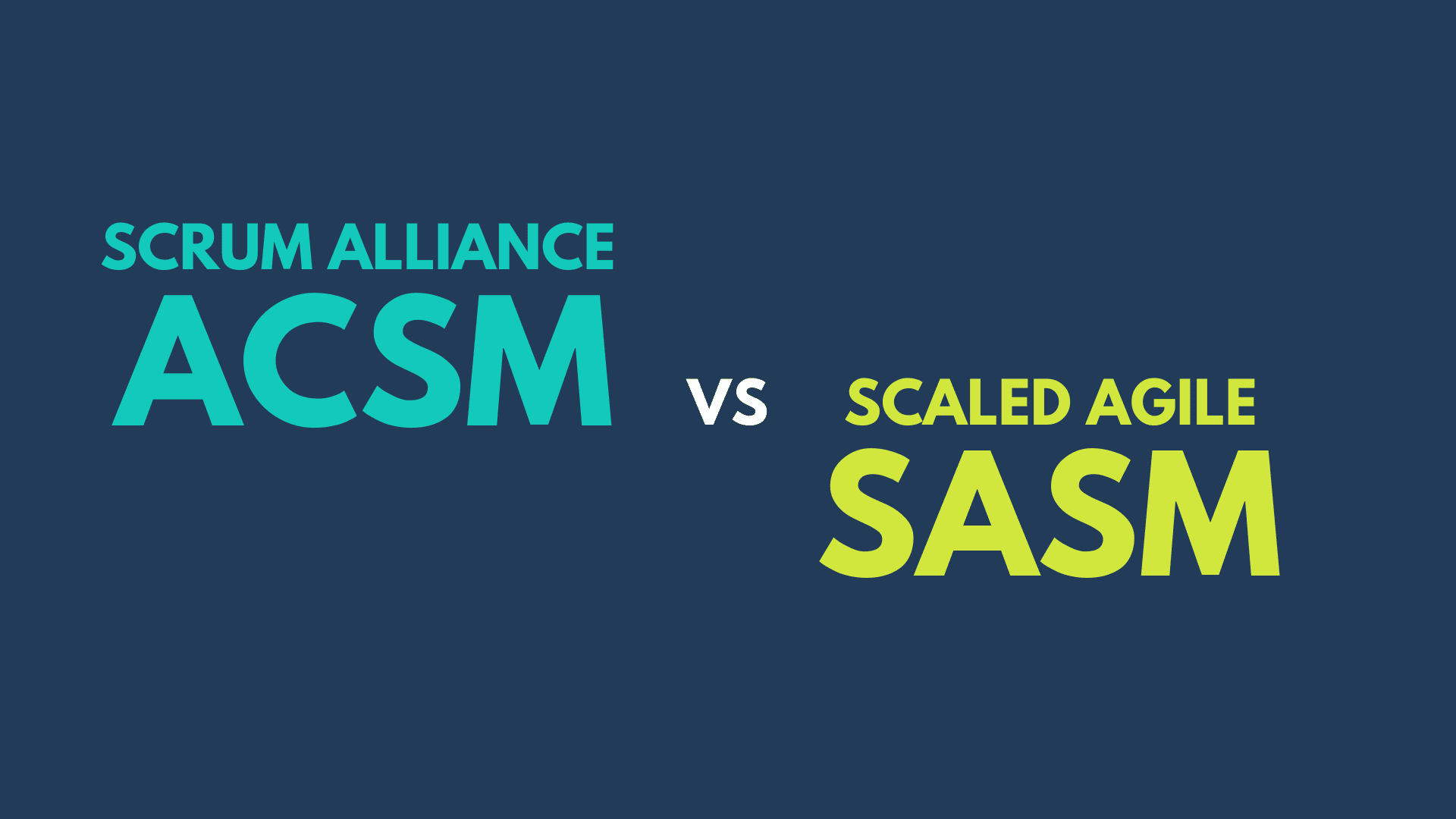 Which Advanced ScrumMaster class is right for me?